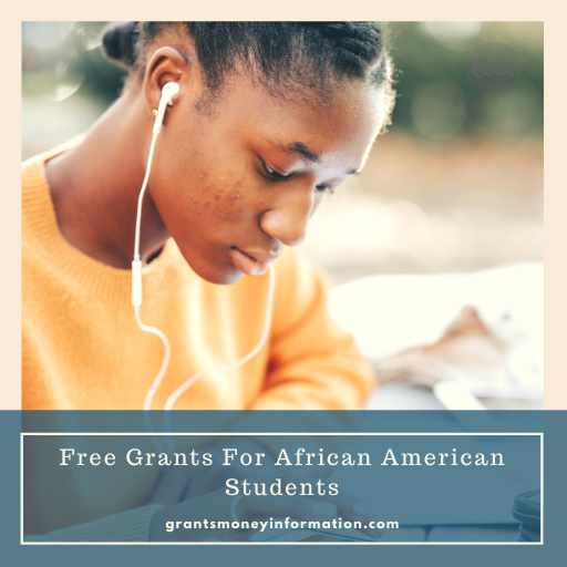 Free Grants For African American Students